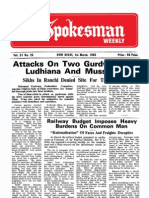 The Spokesman Weekly Vol .31 No. 25 March 1, 1982