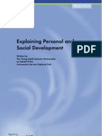 Personal and Social Development
