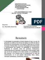 Diapositiva de Cyberbulling