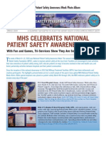Patient Safety Program Spring 2009 Newsletter Special Edition