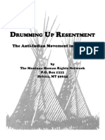 Drumming Up Resentment
