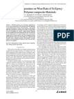 Effect of Temperature on Wear Rate of Si-Epoxy-Eglass Polymer composite Materials