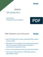FEM Validation Handout