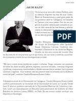 EntreVista Claudia MosqueRa