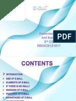 E-ball Technology Ppt