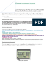 GMDSS Operational Requirements
