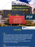 Knowledge Management in Astra