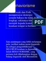 Behaviorisme (2)