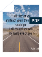 Psalm 32.8