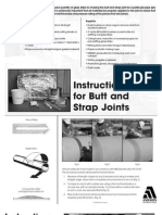 Bondstrand - Instructions for Butt and Strap Joints