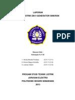 Laporan Praktek TTL Job 2 EM 4 Generator Sinkron.docx