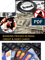 Banking Frauds in India 2013