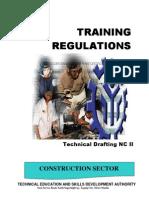 TRAINING REGULATIONS-Training Regulations- Amended Tr Technical Drafting Nc II