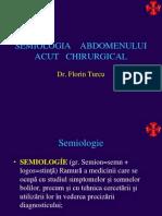 Semiologia Abdomenului Acut Chirurgica 2l