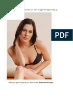 Photoshop How to Do Digital Makeup