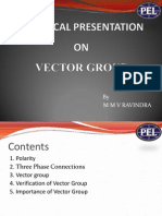 Transformer Vector Group