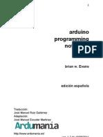 Arduino Programing Notebook ES