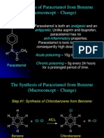 Chemistry H3 Notes the Synthesis of Paracetamol