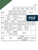 Timetable Week 7 (FMG)