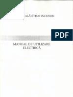 Manual partea Electrica