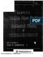 Zimmerman - The Complete Double Bass Parts Orchestral Works Tschaikowsky