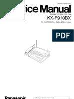 kx f910bx pdf fax image scanner rh es scribd com Panasonic Kx Cordless Phone Manual Panasonic Telephone Manuals