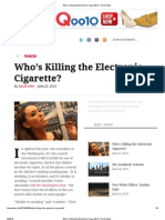 Who's Killing the Electronic Cigarette_ _ The Ümlaut
