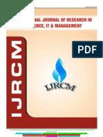 Ijrcm 4 IJRCM 4 Vol 3 2013 Issue 7 Art 10