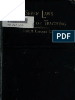 eBook - Pedagogia - Seven_laws_of_teach-JM.gregory