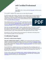 Microsoft Certified Professional - Wikipedia