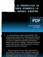 3.Prezent Si Perspective in Dezvoltarea Economica (Bejan Alexandrina Ects Anul II)