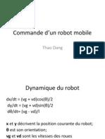 Commande Robot Mobile