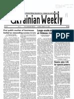 The Ukrainian Weekly 1993-11