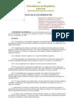 Decreto nº 2.487 Agencias Executivas