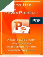 Microsoft Powerpoint 2010 Tutorial Pdf