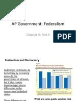 AP Gov Federalism Part II