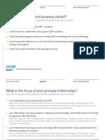 Sap Partner Application Decision Tree