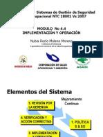 Implementación y Operación de SYSO