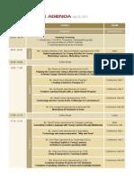 TESOL 8 Agenda