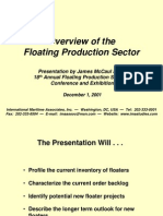 Floating Production Systems Conference - December 1, 2001 - by James McCaul