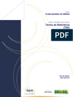 PNE 2050 - Termo de Referência (TDR)