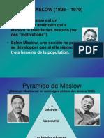 05 La Pyramide de Maslow