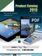 Tablets Catalogo 2013