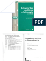 M. Esnault - Estiramientos Analiticos en Fisioterapia Activa