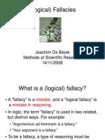 Fallacies 1