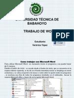 Diapositiva de Word