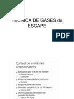 Tecnica de Gases de Escape