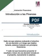 Unidad I-1 Introduccion a Las Finanzas