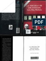 Carlos Antonio Aguirre. La Escuela de Los Annales