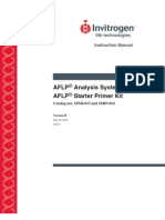 AFLP Manual Invitrogen